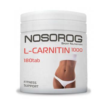 Жиросжигатель Л Карнитин Носорог / Nosorog Nutrition L-Carnitin 1000 мг 180 таб