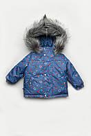 Утепленная зимняя куртка 'Космос' для мальчика 4-6 лет.