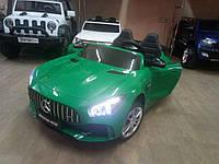 Детский электромобиль Mercedes M 3905EBLR-5 зеленый