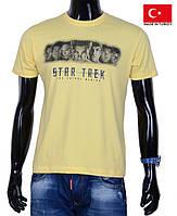 Молодежная футболка ,желтая