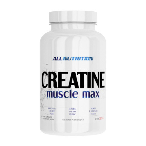 Creatine Muscle Max (250 g, unflavored) All Nutrition