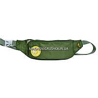 """Сумка на пояс - бананка  YES SP-13 """"Green Moss"""" 557718"""