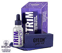 GYEON Q2 Trim «Трім» - найбільш просунутий продукт для захисту пластикових і гумових елементів