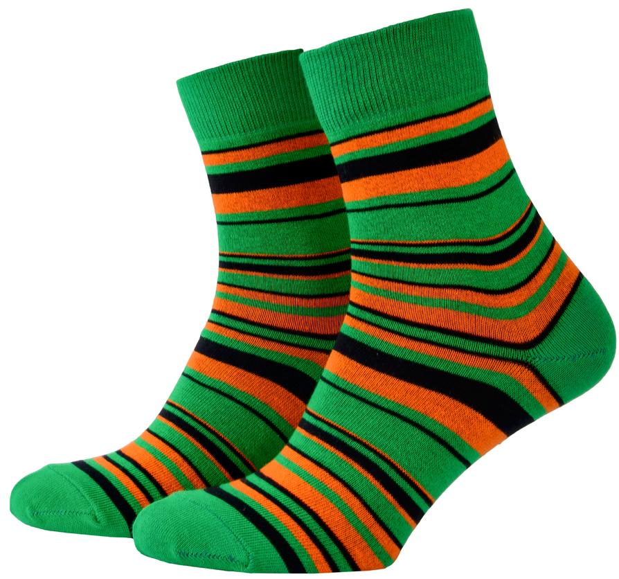 Носки с принтом женские Mushka Deep Green (DEE001) 36-39 Зеленый