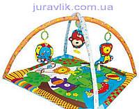 Детский коврик развивающий BIBA TOYS друзья из джунглей