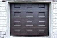 Секционные гаражные ворота DoorHan ш3000мм, в2500мм (дизайн филенка), фото 2