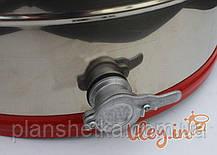 Медогонка из нержавейки с поворотом кассет 4-х рамочная под «Рутовскую» рамку, фото 3