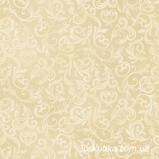 52008 Пышный узор. Ткань с набивным рисунком. Подойдет для декорирования, рукоделия и изготовления сувениров.