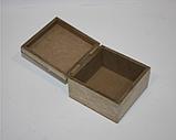 """Шкатулка деревянная """"Кошечка"""" (10*10*6.5 см) , фото 2"""