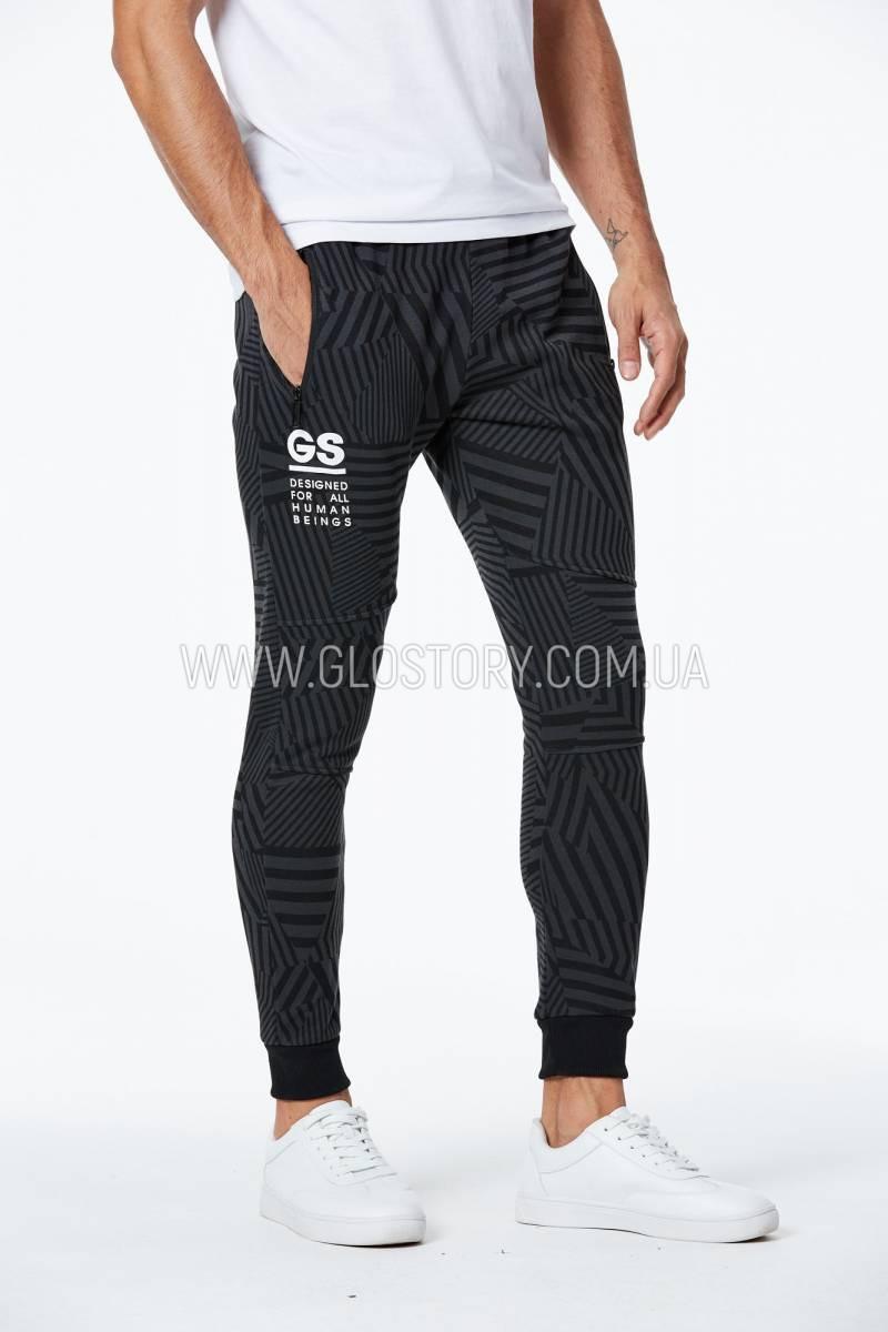 Мужские спортивные брюки на флисе Glo-Story