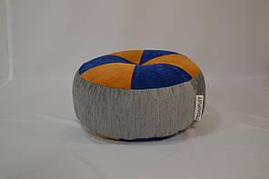 Пуфик Шайба Флок и мебельная ткань, фото 2