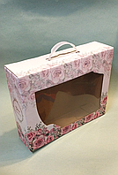 Подарочная коробка 350х270х90мм / уп-10шт