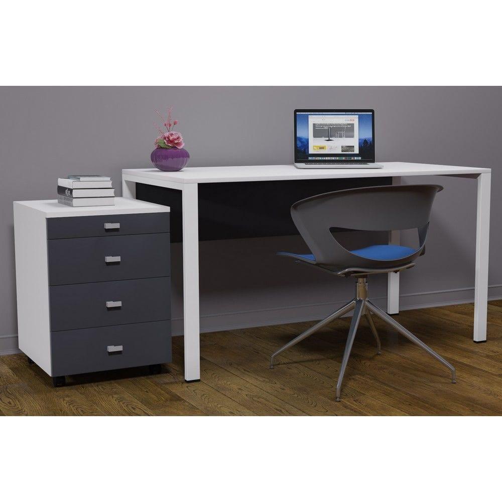 Письменный стол с комодом в стиле LOFT (Office Table - 083)