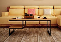 Кофейный Журнальный столик в стиле LOFT (Table - 448), фото 1