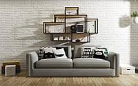 Навесная - Настенная Полка в стиле LOFT (Wall Shelf - 19)
