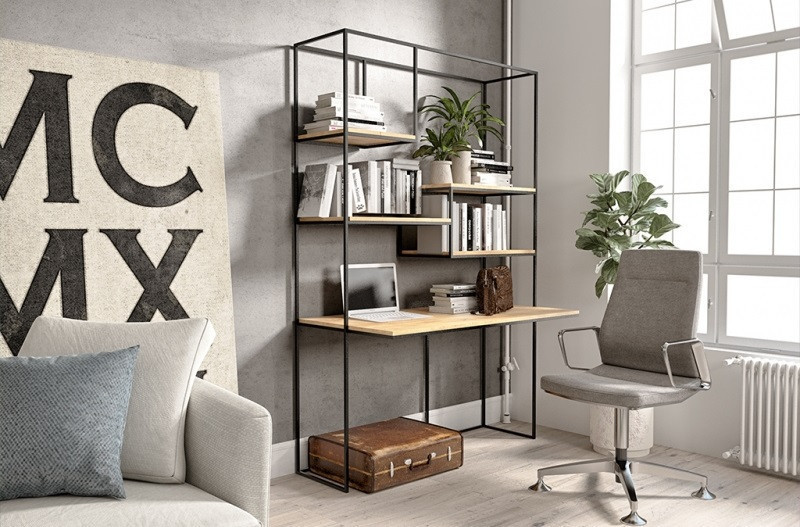 Письменный/Офисный стол в стиле LOFT (Office Table - 088)