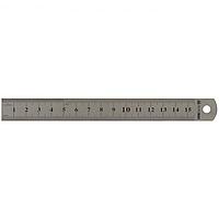 Линейка стальная Buromax 15 см