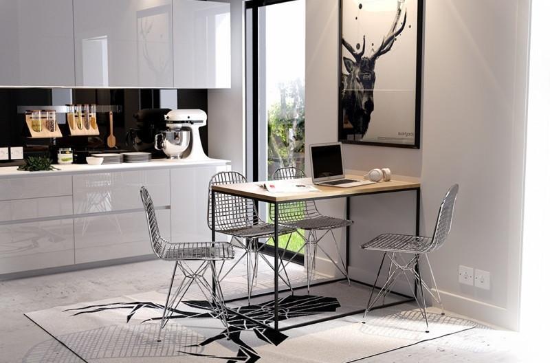 Обеденный стол в стиле LOFT (Table - 070)