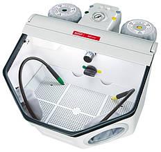 Basic master 25-70 µ/70-250 µ 220-240 В пескоструйный аппарат на два бачка