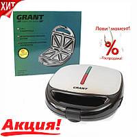 Сэндвичница 3 в 1 Grant GT 779 800W  бутербродница   вафельница   гриль