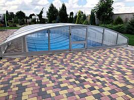 Раздвижной павильон для бассейна -1