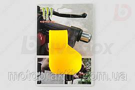 Рычаг круиз контроля ручки газа XJB MONSTER (универсальный, желтый)