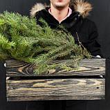 """Дерев'яний ящик """"Dony"""" / Зберігання / Органайзер / Фото фон / Декор для магазину / Фото декор / Кашпо, фото 3"""