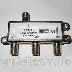 Делитель ТВ Split 3 (5-1000 МГц)
