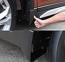 Брызговики MGC Nissan X-TRAIL Европа, ROUGE Америка T32 2013-2020 г.в. комплект 4 шт, фото 10
