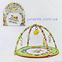 Детский коврик развивающий 1821 музыкальный