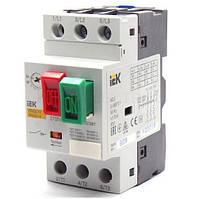 Автоматический выключатель защиты двигателя пускатель ПРК 32-1 In=1A Ir=0,63-1A iek