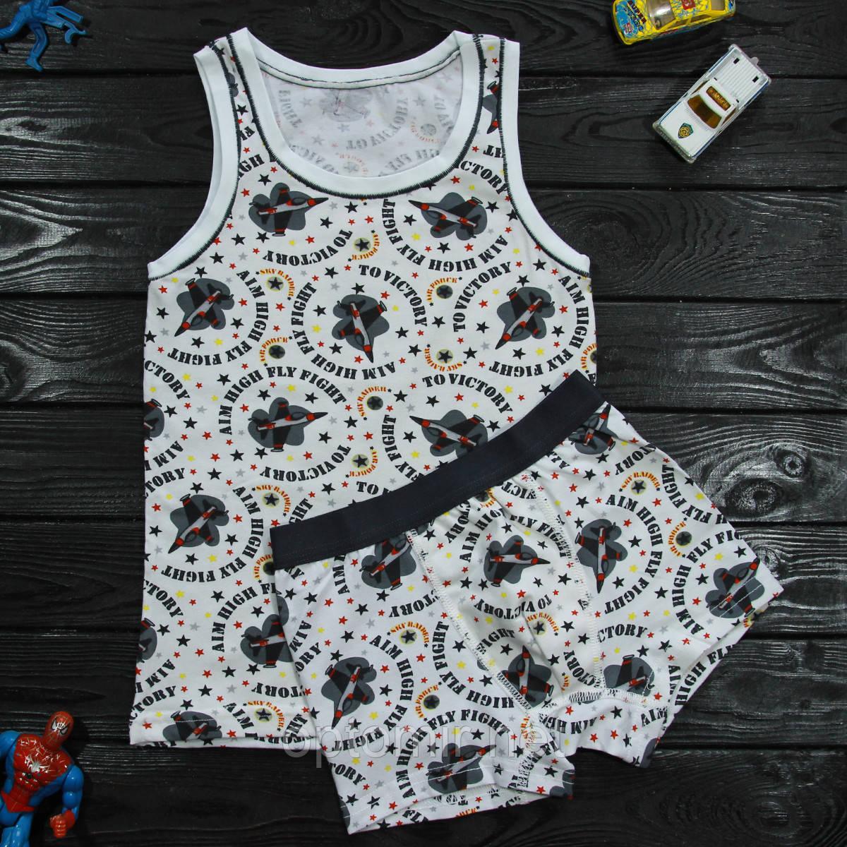 Комплект детский Donella белый для мальчика на 6/7 лет | 1шт.
