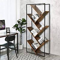 Стеллаж для книг в стиле LOFT (Rack - 013). Дизайнерская мебель в стиле лофт от производителя. Готовые решения