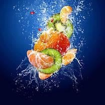 Стіл кухонний скляний Прямокутний з полицею Sweet Mix 91х61 *Еко (БЦ-стіл ТМ), фото 3