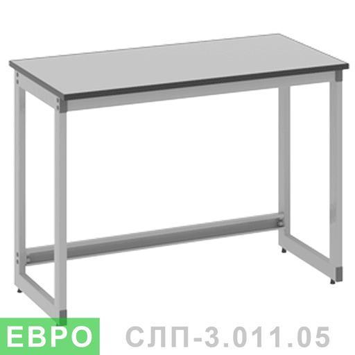Стол лабораторный пристенный усиленный СЛП-3.011.05