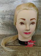Голова - манекен учебная со штативом Блондинка