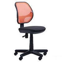 Кресло Чат сиденье А-1, спинка Сетка оранжевая (AMF-ТМ)