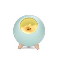 Ночник 3DTOYSLAMP Спящий котик Голубой