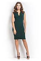 Платье  футляр МОССА зеленого цвета  42