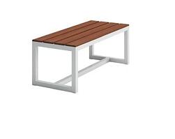 Обеденная скамейка в стиле LOFT (1200х450х450) (Bench - 04)