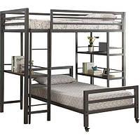 Двухьярусная в стиле LOFT (Bed - 015)