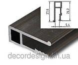 Профиль алюминиевый для натяжных потолков - П-образный. Длина профиля 2,5 м., фото 3