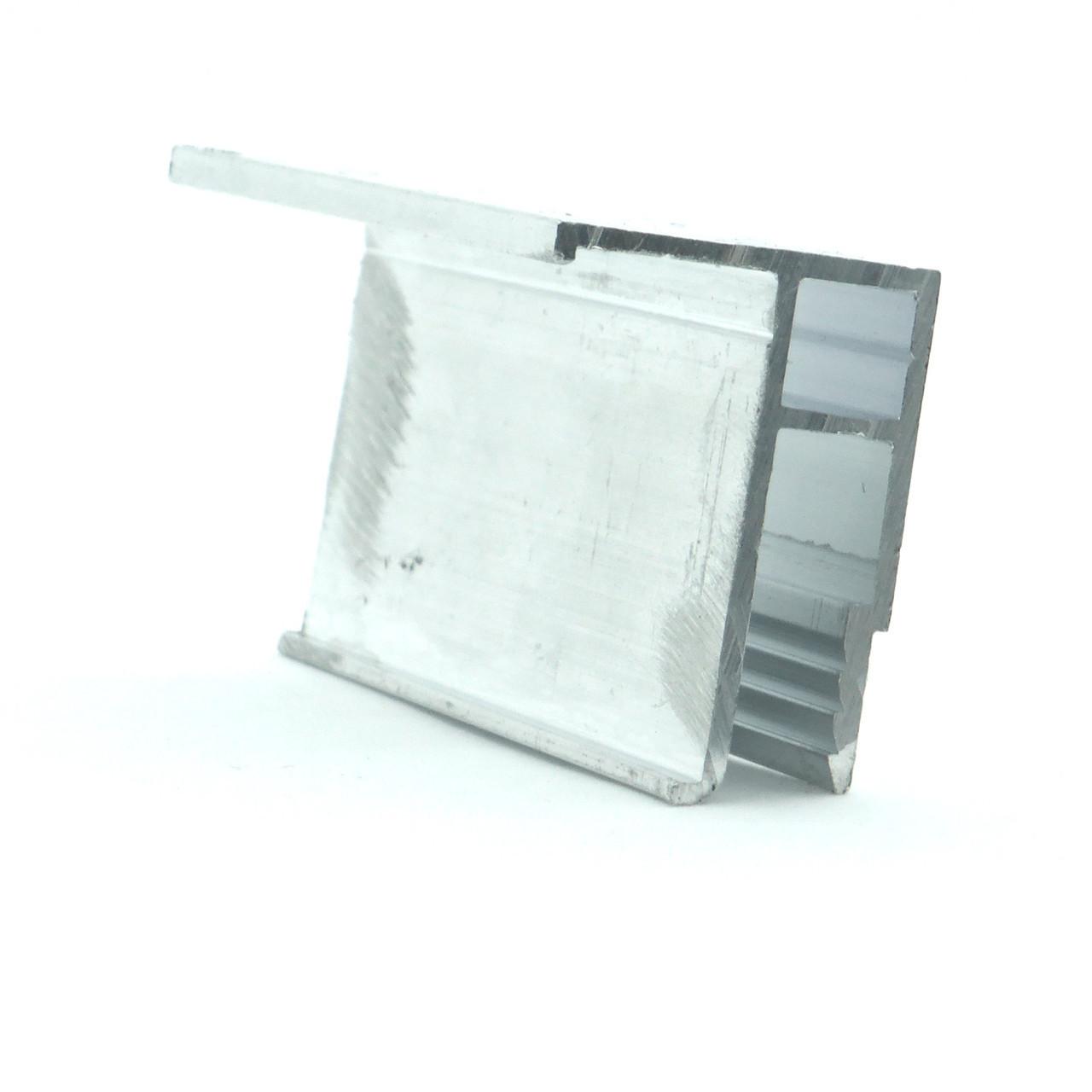 Профиль алюминиевый для натяжных потолков - Универсальный. Длина профиля 2,5 м.