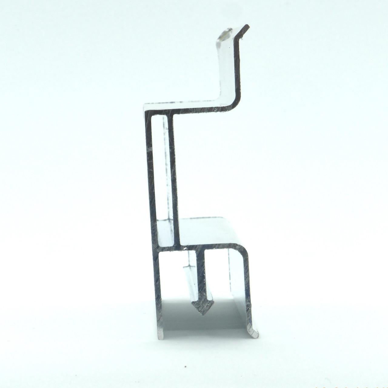 Профиль алюминиевый для натяжных потолков - двухуровневый №1. Длина профиля 2,5 м.