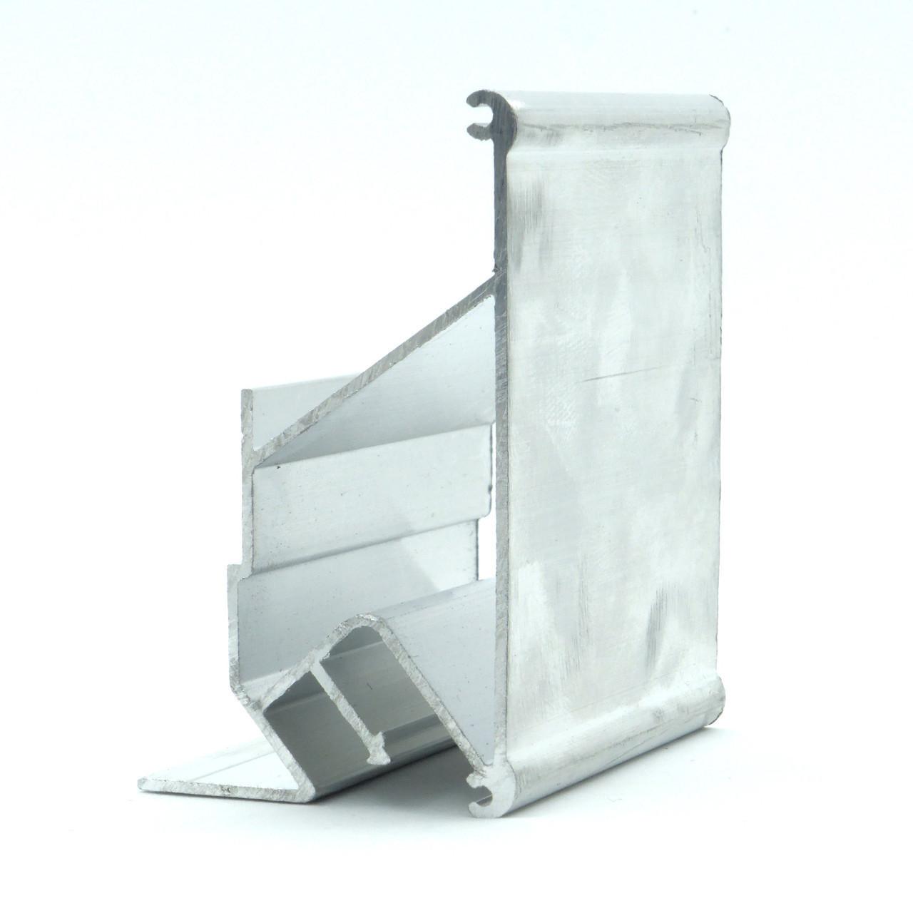 Профіль алюмінієвий для натяжних стель - дворівневий №3, безщелевой. Довжина профілю 2,5 м.