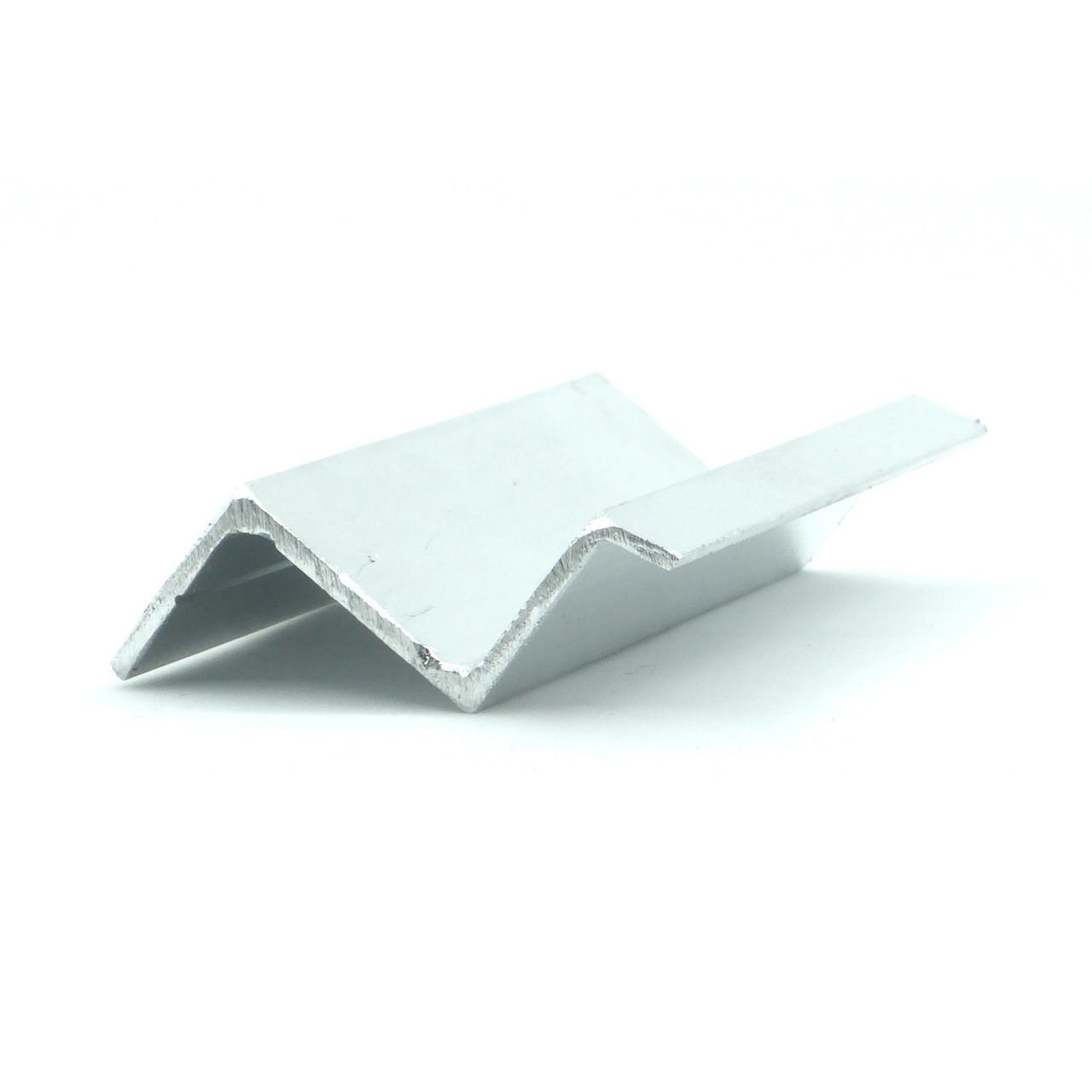 Профиль алюминиевый - Z-образный для многоуровневых натяжных потолков. Длина профиля 2,5 м.