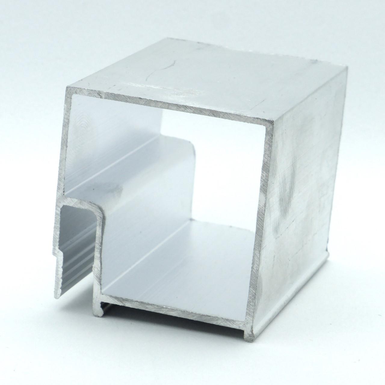 Профиль алюминиевый - Брус. Длина профиля 2,5 м.