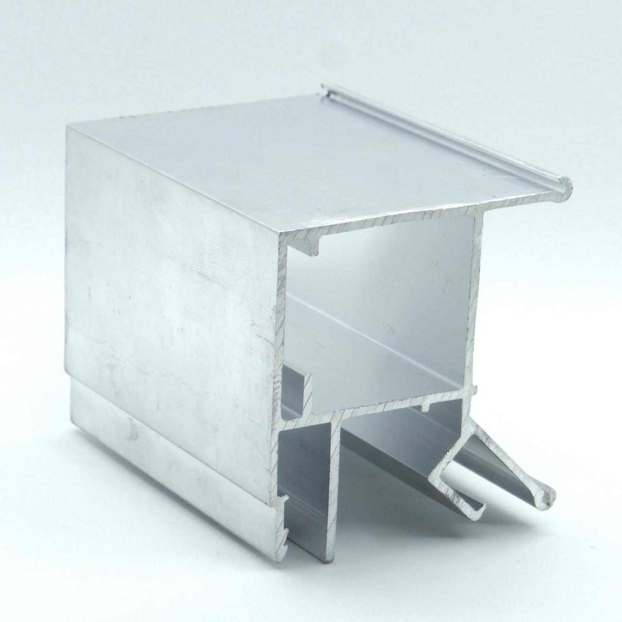 Профиль алюминиевый для натяжных потолков - Брус, с подсветкой. Длина профиля 2,5 м.