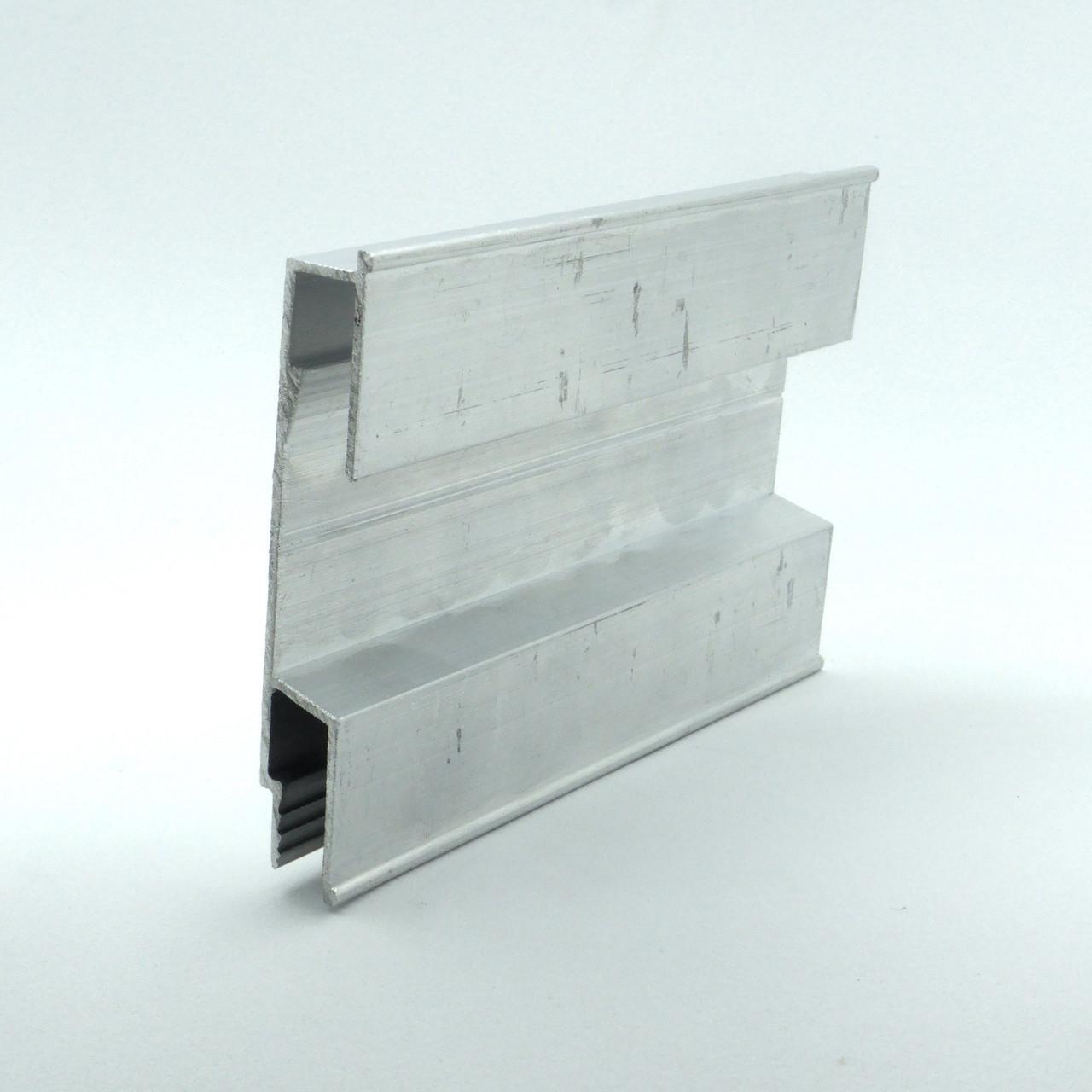 Профіль алюмінієвий для натяжних стель - 3D, для створення об'ємних зображень. Довжина профілю 2 м.
