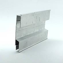 Профиль алюминиевый для натяжных потолков - 3D, для создания объемных изображений. Длина профиля 2 м.